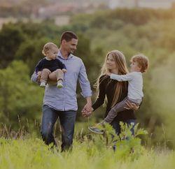 Счастливая семья после приворота