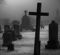 Кладбище для черного приворота на кровь